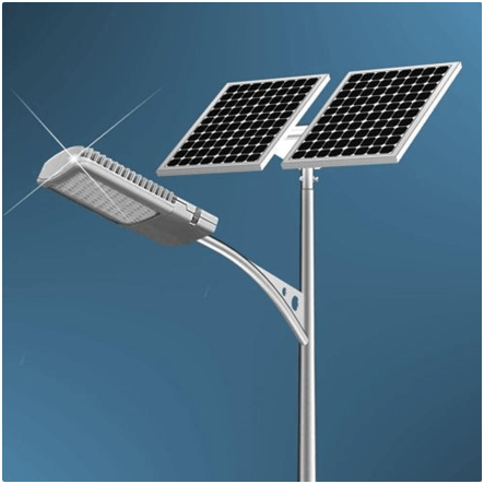 The entire system of solar streetlight is made from durable materials