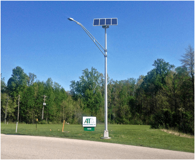 Commercial Solar Powered Street Light