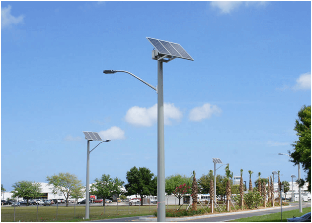 Commercial Solar Powered Street Lights are everywhere