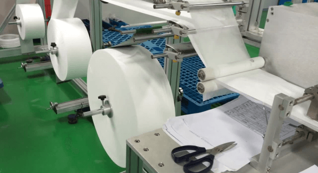The Manufacturing Of Face Masks Using Machines